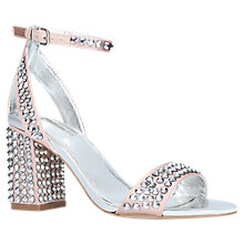 Buy Carvela Gianni Studded Block Heeled Sandals Online at johnlewis.com