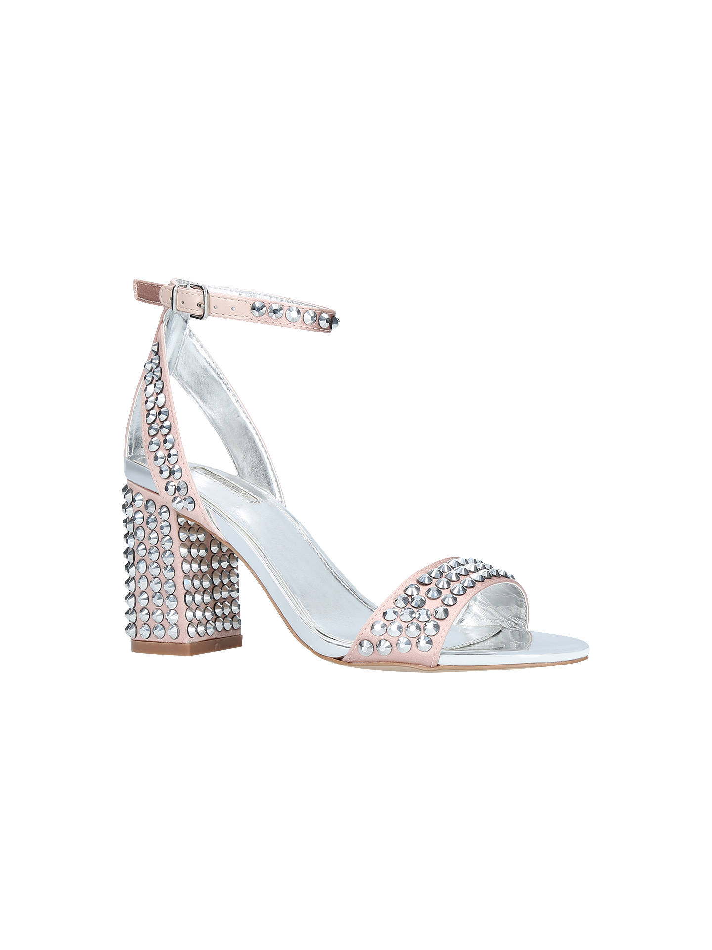d090fd178fd Carvela Gianni Studded Block Heeled Sandals at John Lewis   Partners
