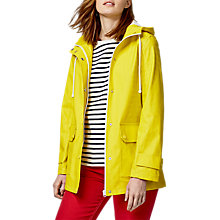 Buy Warehouse Contrast Trim Anorak, Yellow Online at johnlewis.com
