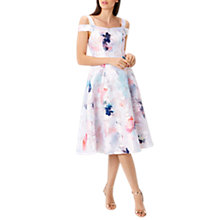 Buy Coast El Cristo Jacquard Midi Shorter Length Dress, Multi Online at johnlewis.com