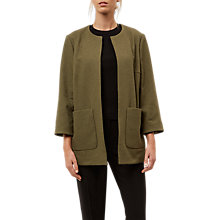 Buy Jaeger Edge to Edge Collarless Jacket Online at johnlewis.com