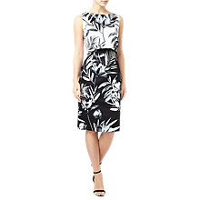 Buy Precis Petite Lily Shift Dress, Black/White Online at johnlewis.com