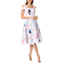 Buy Coast El Cristo Jacquard Midi Dress, Multi Online at johnlewis.com