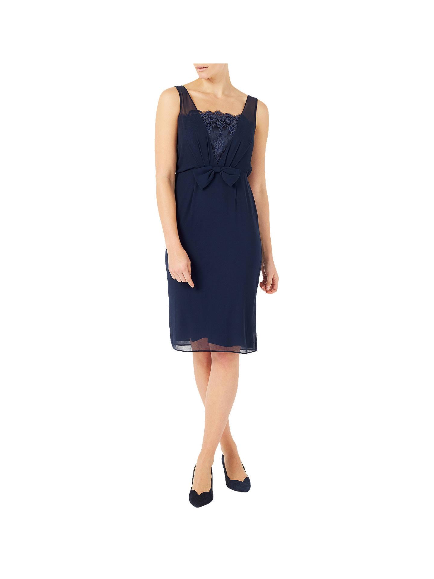 dc8425937025a Buy Jacques Vert Chiffon Lace Trim Dress