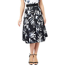Buy Precis Petite Mono Lily Skirt, Black/Multi Online at johnlewis.com