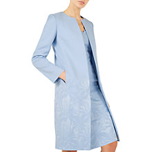 Buy Jacques Vert Gradual Textured Jacket, Pastel Blue Online at johnlewis.com