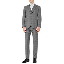 Buy Reiss Crow Check Classic Fit Three Piece Suit, Grey Online at johnlewis.com