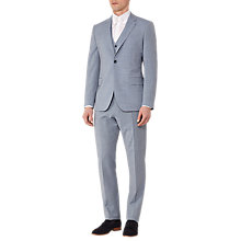Buy Reiss Faulkenberg Modern Fit Three Piece Suit, Soft Blue Online at johnlewis.com
