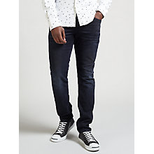 Buy Scotch & Soda Ralston Slim Fit Jeans, Black and Blue Online at johnlewis.com