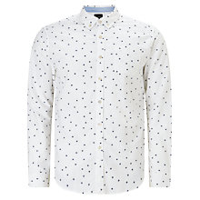 Buy Scotch & Soda Long Sleeve Blauw Shirt Online at johnlewis.com