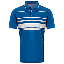 Buy Calvin Klein Golf Stadium Polo Shirt, Blue Online at johnlewis.com