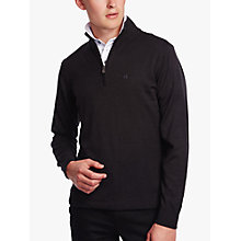 Buy Calvin Klein Golf Heather Half-Zip Sweatshirt Online at johnlewis.com