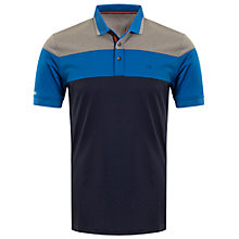 Buy Calvin Klein Golf Grandstand Polo Shirt, Navy Online at johnlewis.com