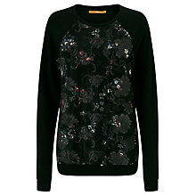 Buy BOSS Orange Talacie Sweater, Black Online at johnlewis.com