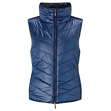 Buy BOSS Orange Otirrana Reversible Quilted Gilet, Medium Blue Online at johnlewis.com