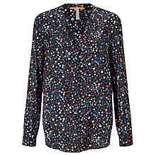 Buy BOSS Orange Efelize Printed Blouse, Multi Online at johnlewis.com