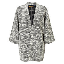Buy BOSS Orange Takimono Textured Cardigan, Open Mis Online at johnlewis.com