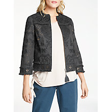 Buy AND/OR Roxy Jacket, Charcoal Online at johnlewis.com