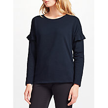 Buy Collection WEEKEND by John Lewis Frill Sleeve Detail Top Online at johnlewis.com