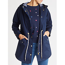 Buy Collection WEEKEND by John Lewis Parka Coat, Navy Online at johnlewis.com