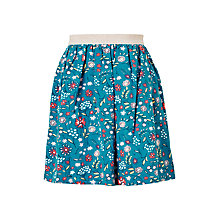 Buy John Lewis Girls' Scattered Floral Skirt, Blue Online at johnlewis.com