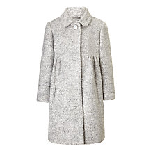 Buy John Lewis Girls' Sequin Coat, Grey Online at johnlewis.com