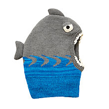 Buy John Lewis Children's Shark Balaclava, Grey Online at johnlewis.com