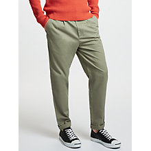 Buy Kin by John Lewis Front Pleat Trousers, Stone Online at johnlewis.com