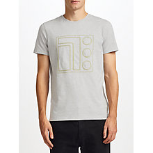 Buy Kin by John Lewis Cube Appliqué T-Shirt, Grey Online at johnlewis.com