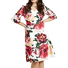 Buy Celuu Blake Summer Floral Print Dress, Pink Online at johnlewis.com