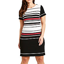 Buy Celuu Alexa Stripe Shift Dress Online at johnlewis.com