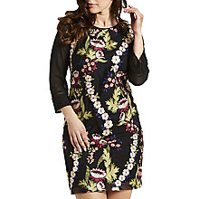 Buy Celuu Carrie Embroidered Floral Shift Dress, Multi Online at johnlewis.com