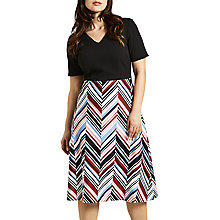 Buy Celuu Savannah Chevron Print Dress Online at johnlewis.com
