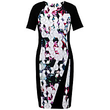 Buy Celuu Clare Panelled Dress, Black/Multi Online at johnlewis.com