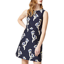 Buy Warehouse Iris Jacquard Dress, Multi Online at johnlewis.com
