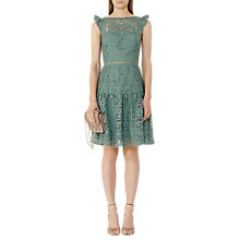 Buy Reiss Herrera Lace Dress, Thyme Online at johnlewis.com