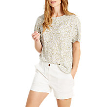Buy White Stuff Karala Graphic Print Top, Eden Green Online at johnlewis.com