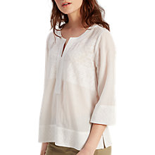 Buy White Stuff Libby Top, White Online at johnlewis.com