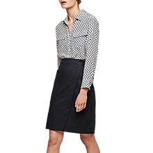 Buy Gerard Darel Johan Skirt, Midnight Blue Online at johnlewis.com