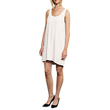 Buy French Connection Dorothy Draped Embellished Daisy Dress Online at johnlewis.com