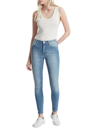 French Connection Skinny Stretch Rebound Denim Jeans, Sunbleached