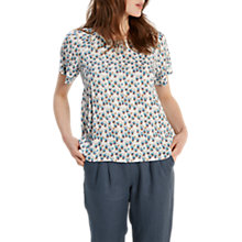 Buy White Stuff Lorrie Top, Cream Online at johnlewis.com