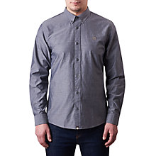 Buy Pretty Green Sterling Long Sleeve Oxford Shirt Online at johnlewis.com