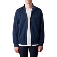 Buy Pretty Green Newton Harrington Jacket, Navy Online at johnlewis.com