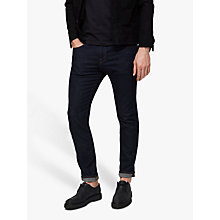 Buy Selected Homme Leon Slim Jeans, Dark Rinse Online at johnlewis.com