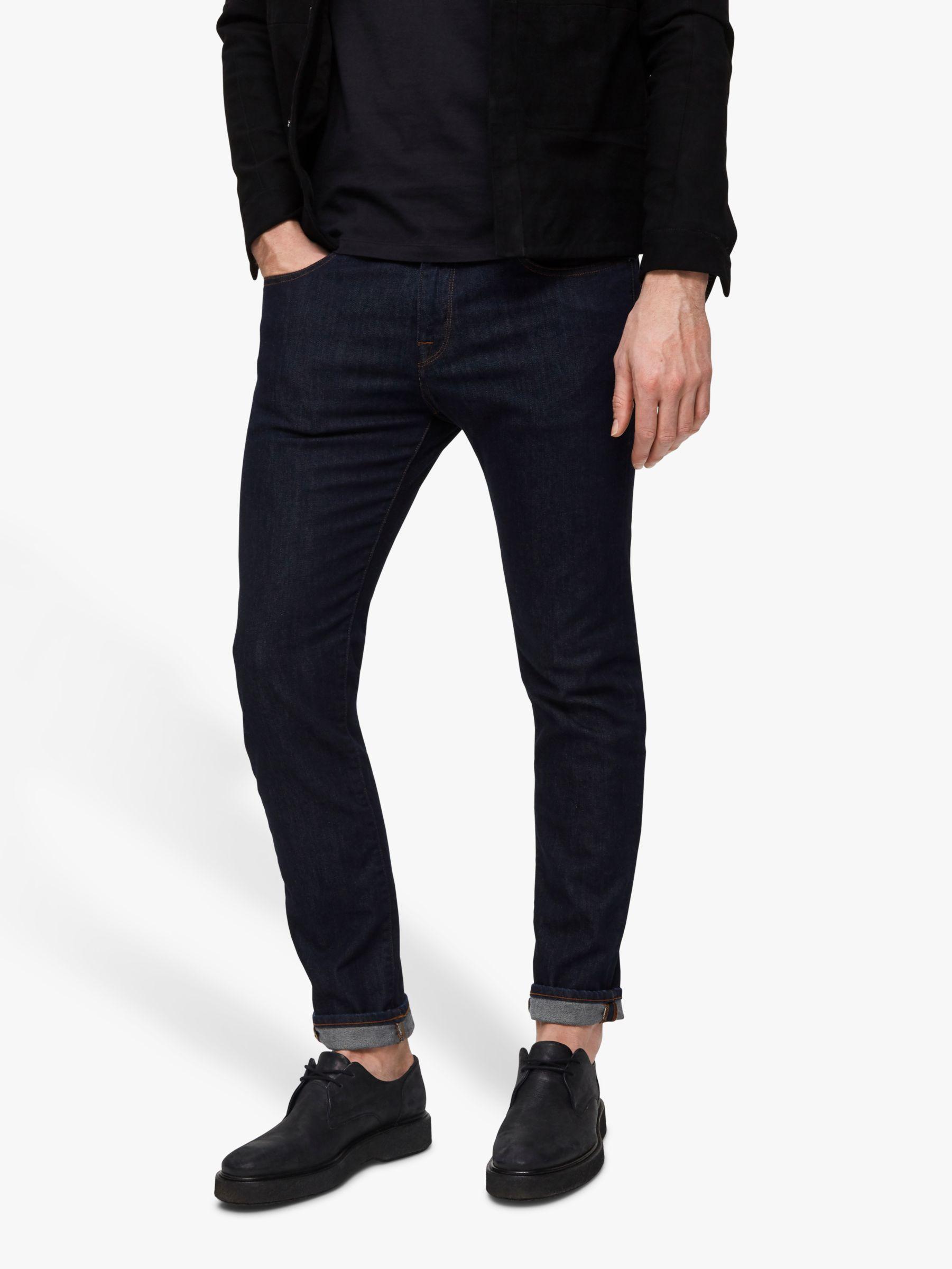 Selected Homme SELECTED HOMME Leon Slim Jeans, Dark Rinse