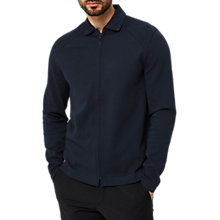 Buy Selected Homme Hunt Sweat Jacket, Navy Online at johnlewis.com