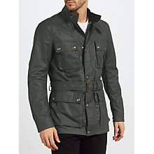 Buy Belstaff Racemaster Blouson Jacket, Winward Grey Online at johnlewis.com