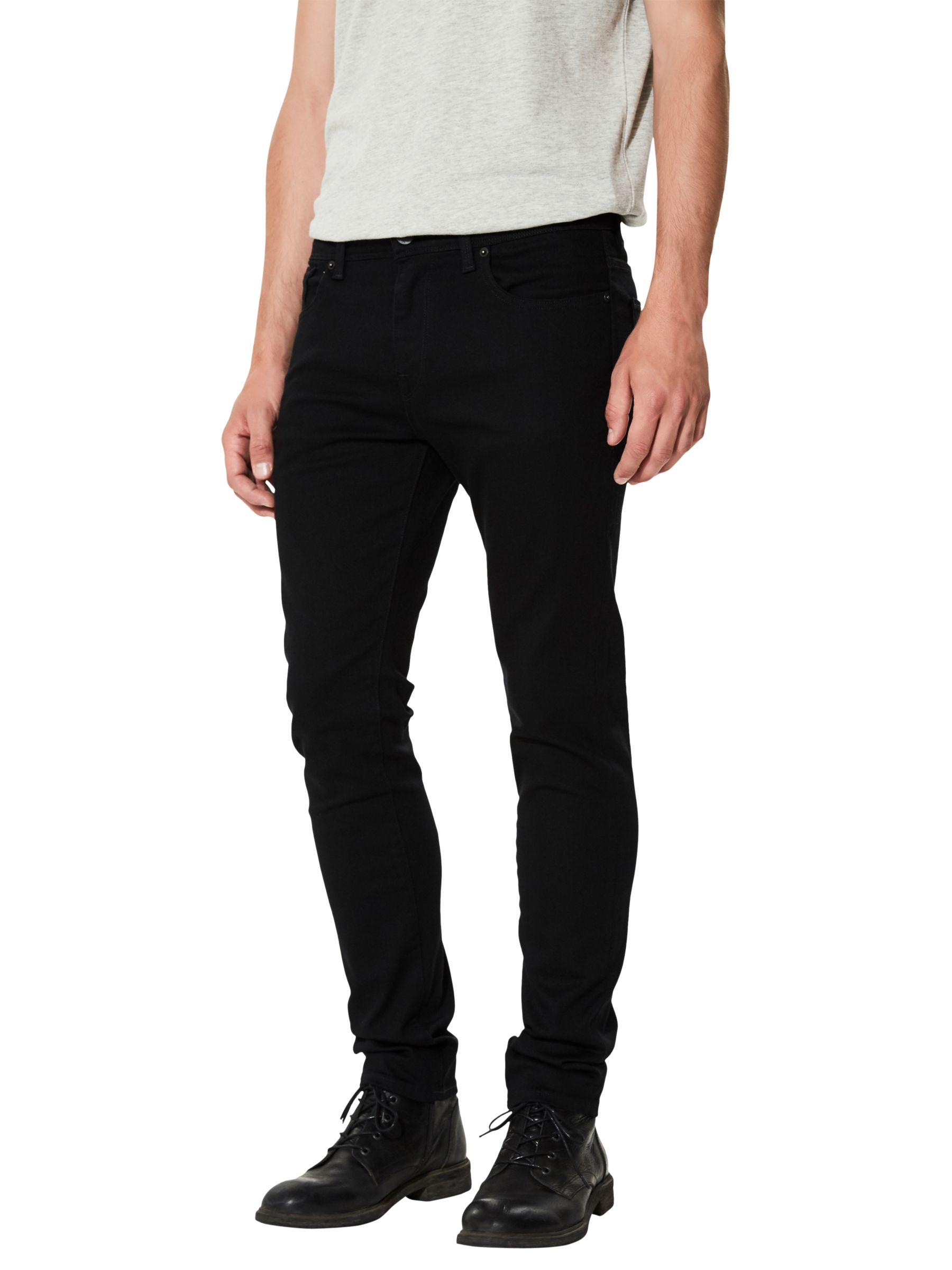 Selected Homme SELECTED HOMME Leon Slim Jeans, Black