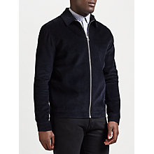 Buy Samsoe & Samsoe Gilbert Cord Jacket, Dark Sapphire Online at johnlewis.com